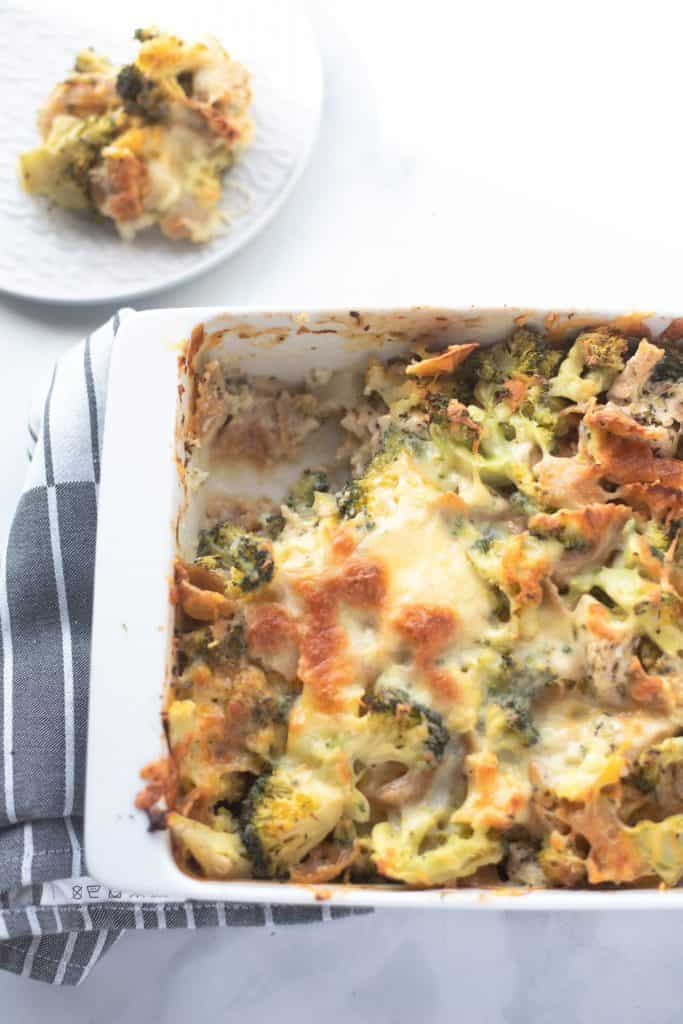 Easiest Chicken Broccoli Pasta Bake - One Pot, No Fuss, Easy-7653
