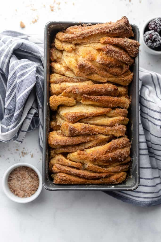 Cinnamon Sugar Pull Apart Bread Best Breakfast Ever Every Little Crumb